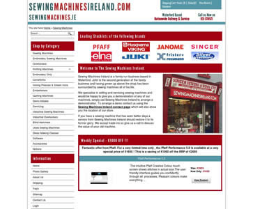 Sewing Machines Ireland